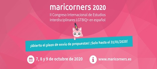 MariCorners 2020: II Congreso Internacional de Estudios Interdicisplinares LGTBIQ+ en español