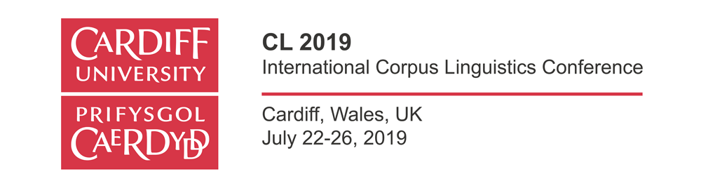 10th International Corpus Linguistics Conference (CL2019). Cardiff (País de Gales)