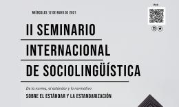 II Seminario Internacional de Sociolingüística. En línea