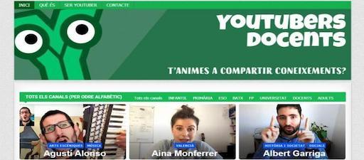 Nace un portal de Youtube de profesorado que traballa en lingua catalá