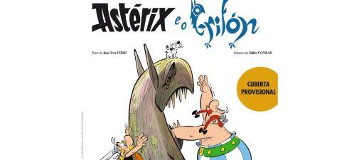 O número 39 da serie de Astérix e Obélix contará con versión en galego