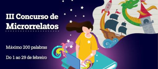 Convócase a terceira edición do certame de microrrelatos creado en 2018 para impulsar a presenza do galego no mundo dixital