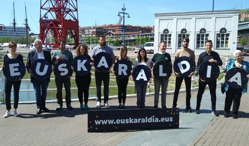 O proxecto Euskaraldia provocou un aumento do uso do éuscaro entre as persoas participantes