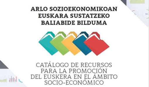 A Deputación Foral de Áraba publica un catálogo de recursos para impulsar o uso do éuscaro no ámbito socioeconómico