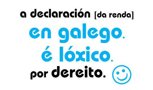 Ponse en marcha unha campaña para animar os contribuíntes a presentar a declaración da renda en galego