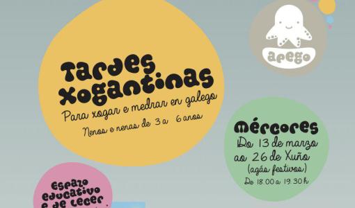 O Concello de Santiago de Compostela organiza Tardes Xogantinas, unha iniciativa de lecer e socialización en galego